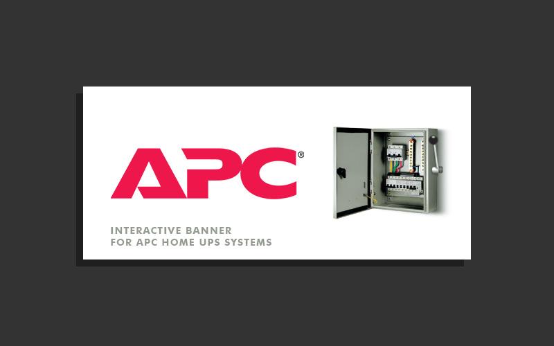 APC UPS Banner
