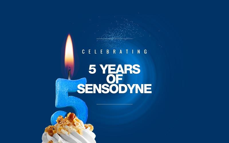 Sensodyne Blow the Candle banner